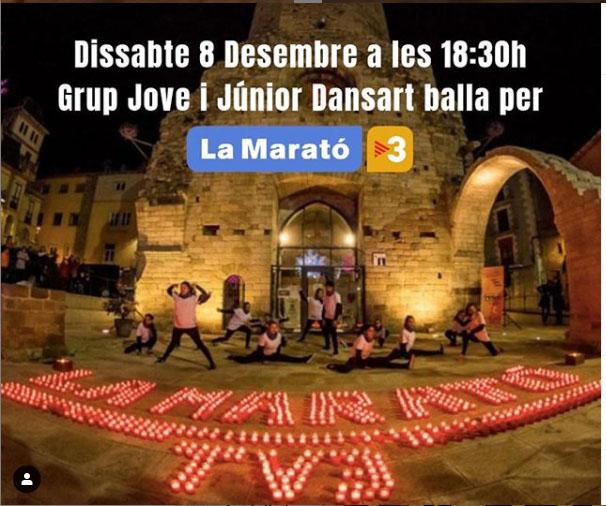 Dansart, un any més amb La Marató de TV3!